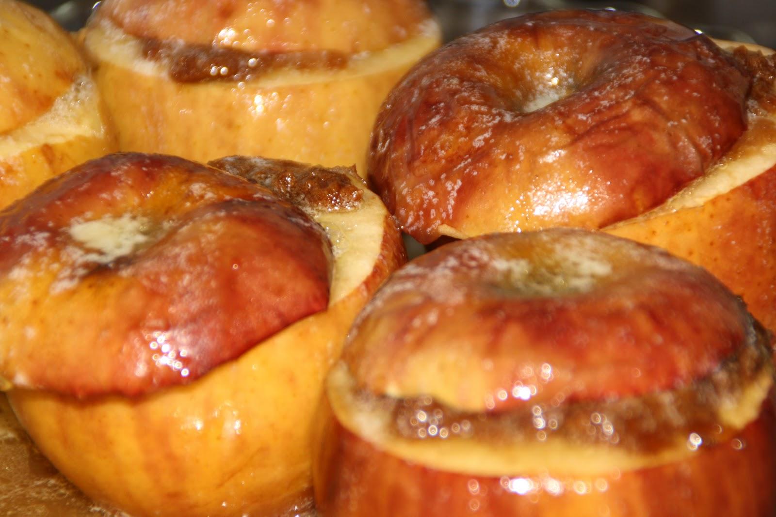 cuisine pour 6 pommes au four aux speculoos