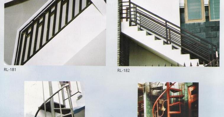 Folding Gate Sumber Makmur: Desain Model Railing Tangga 3