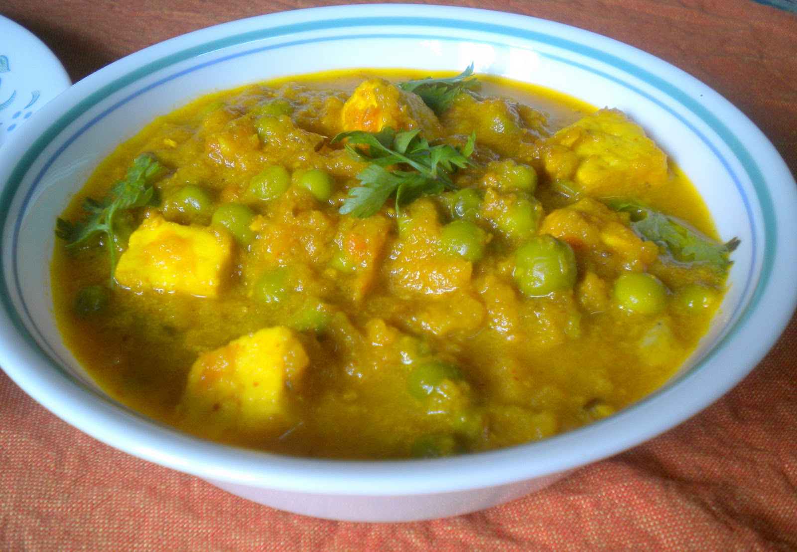 Matar Paneer Recipe — Dishmaps