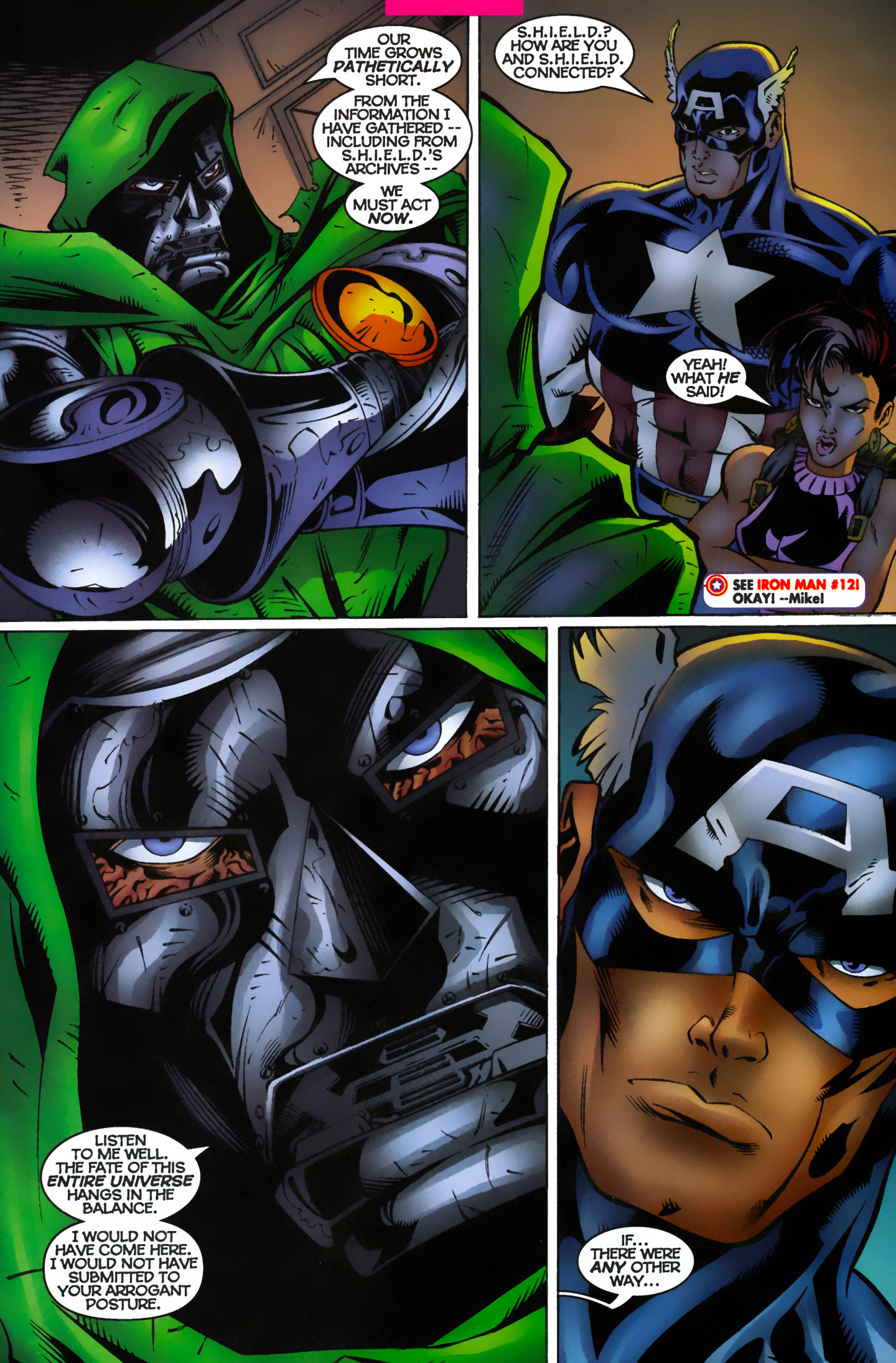 Captain America (1996) Issue #12 #15 - English 11