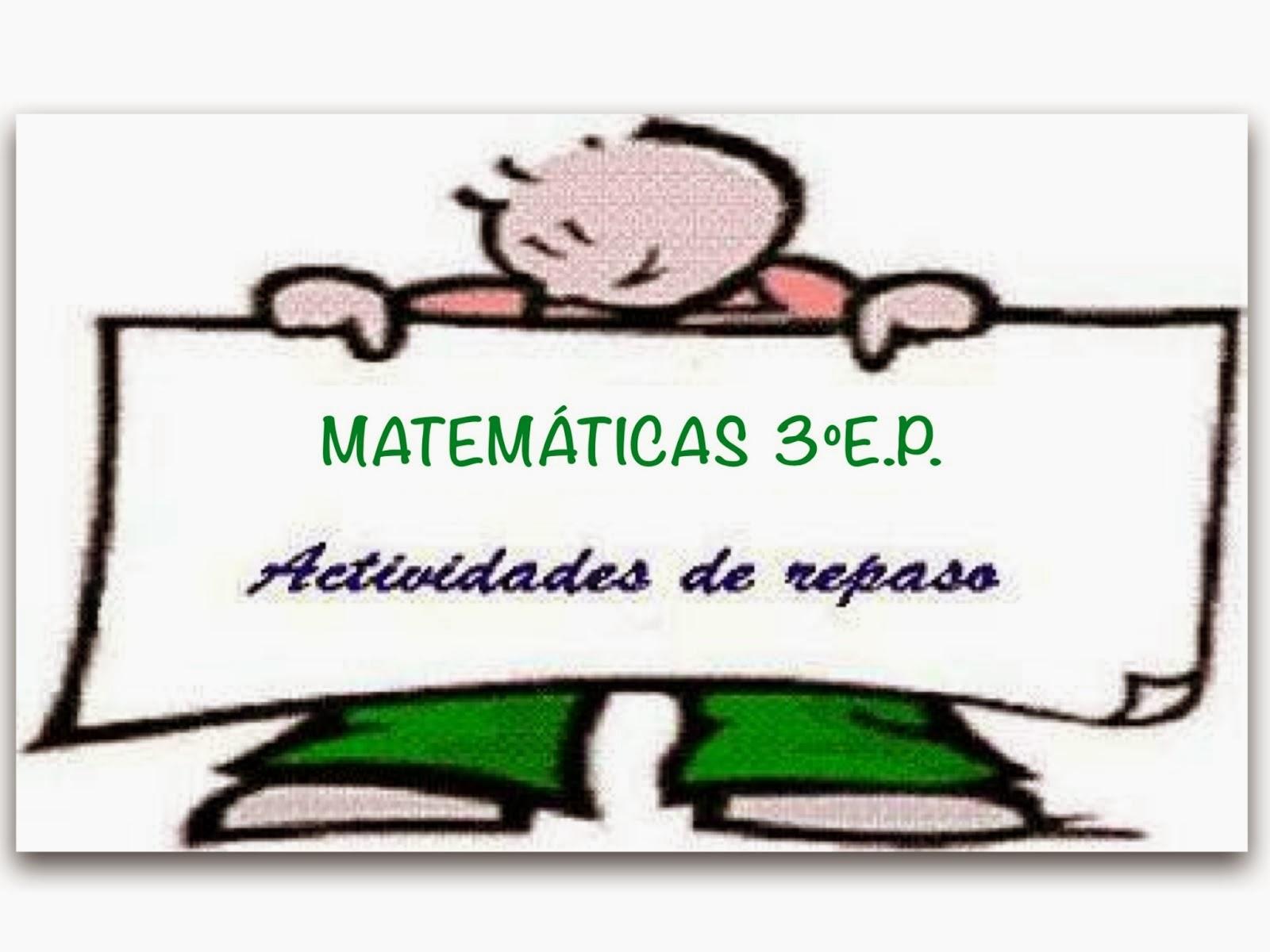 FICHAS DE MATEMÁTICAS