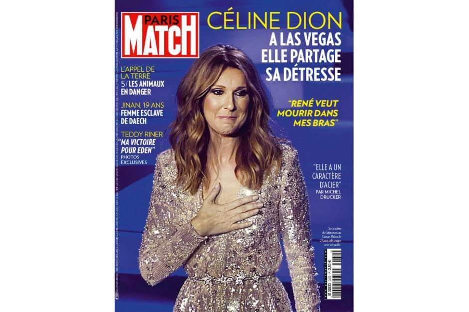 magazine press august september 2015 celine dion discussions celine dion forum. Black Bedroom Furniture Sets. Home Design Ideas