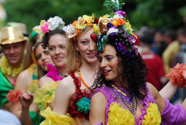 hòa mình vào các vũ điệu tại Carnival Berlin
