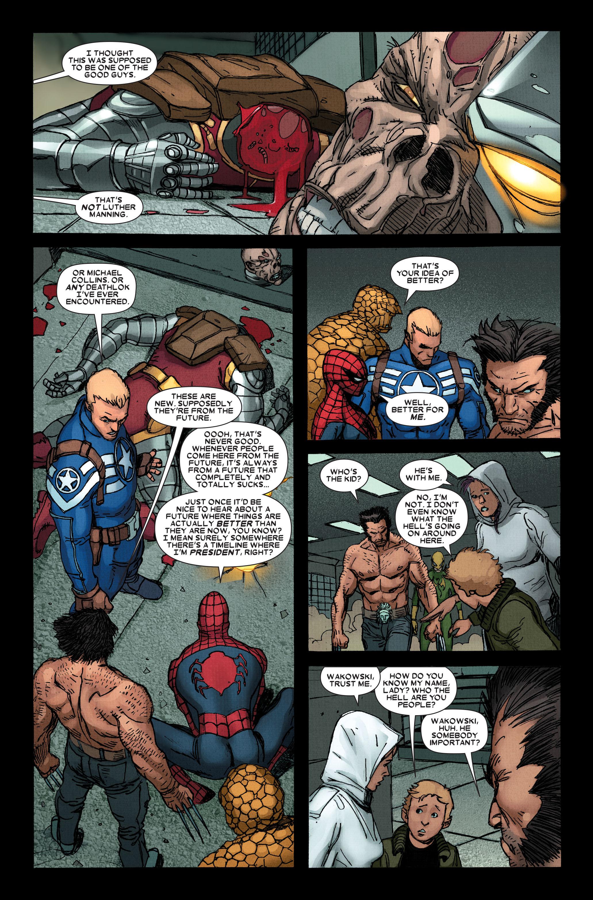 Wolverine: Weapon X #13 #4 - English 14