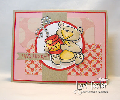 Hiya Honey-designed by Lori Tecler-Inking Aloud-stamps from The Cat's Pajamas