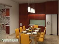 desain konsep ruang makan modern minimalis