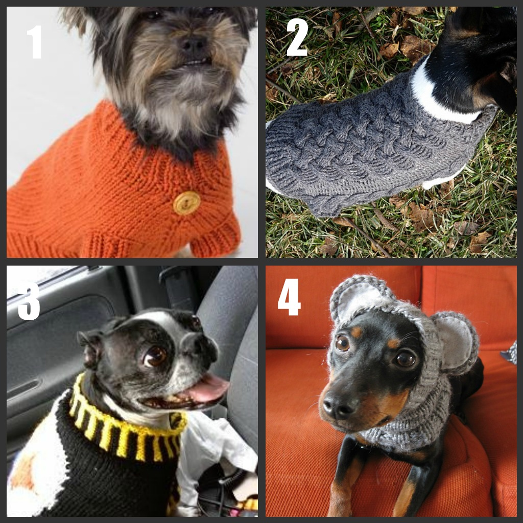 Dog sweater to knitcrochet roundup part 2 bankloansurffo Gallery