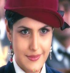 Salman Khan And Zarine Khan In Veer