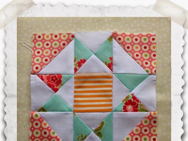 Chatelaine- Free BOW Sampler Quilt Block 17