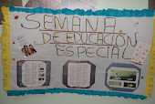 cartelera de la semana de la educacin especial