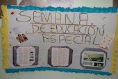 cartelera de la semana de la educación especial