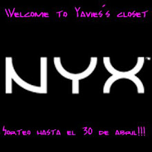 Sorteo en Welcome to Yavie's Closet  (30 de abril)