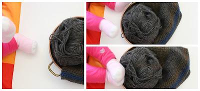 La Frida sul sofà: cappello da uomo all'uncinetto nei colori dell'autunno - crochet man hat