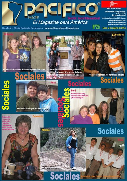 Revsita Pacífico Nº 25 Social Internacional