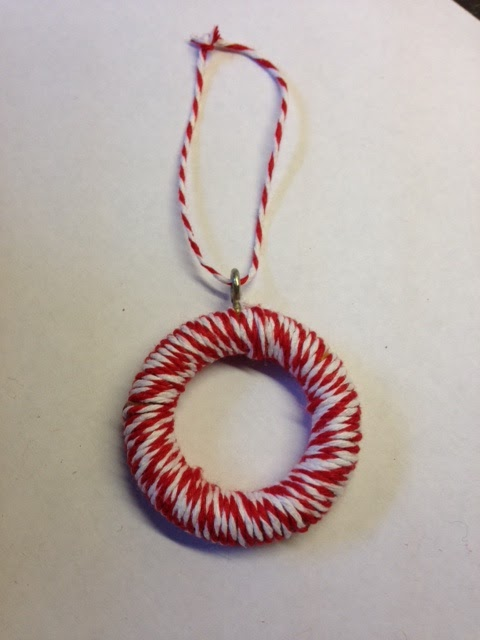 Christmas Decorations Using Curtain Rings : Preferably prim curtain ring christmas tree decorations