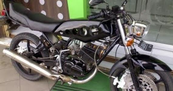 Gambar Modif Motor Yamaha 75  Modifikasi Motor Yamaha 2016