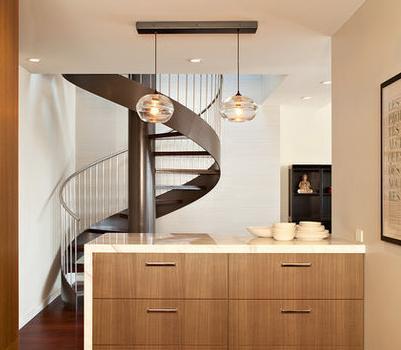 Fotos de escaleras escaleras a for Escaleras en poco espacio