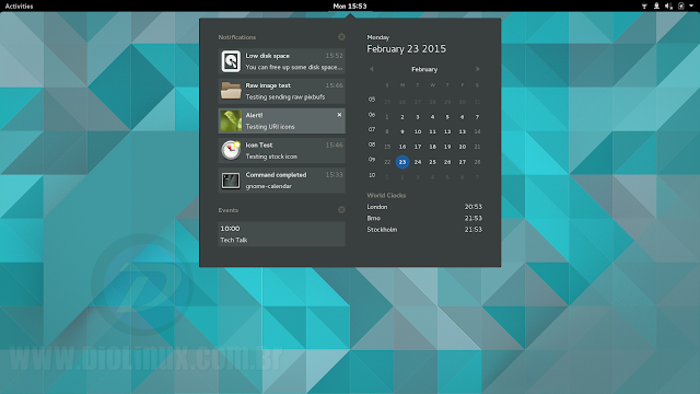 Gnome 3.16 no Ubuntu