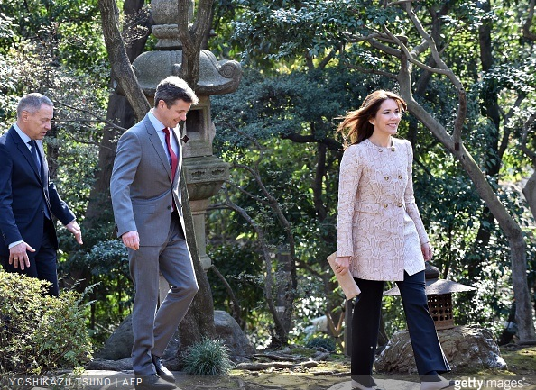 The Danish royal couple are on a three-day visit to promote Greenland.