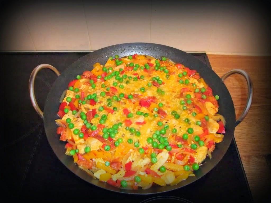 how to make simple paella