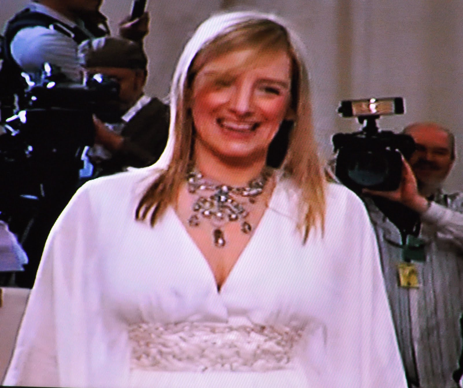 Sarah Burton, Creative Director At Alexander Mcqueen And Designer Of