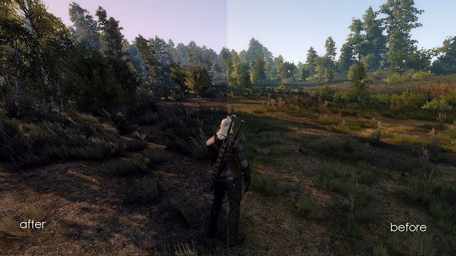 Witcher 3 graphics mod