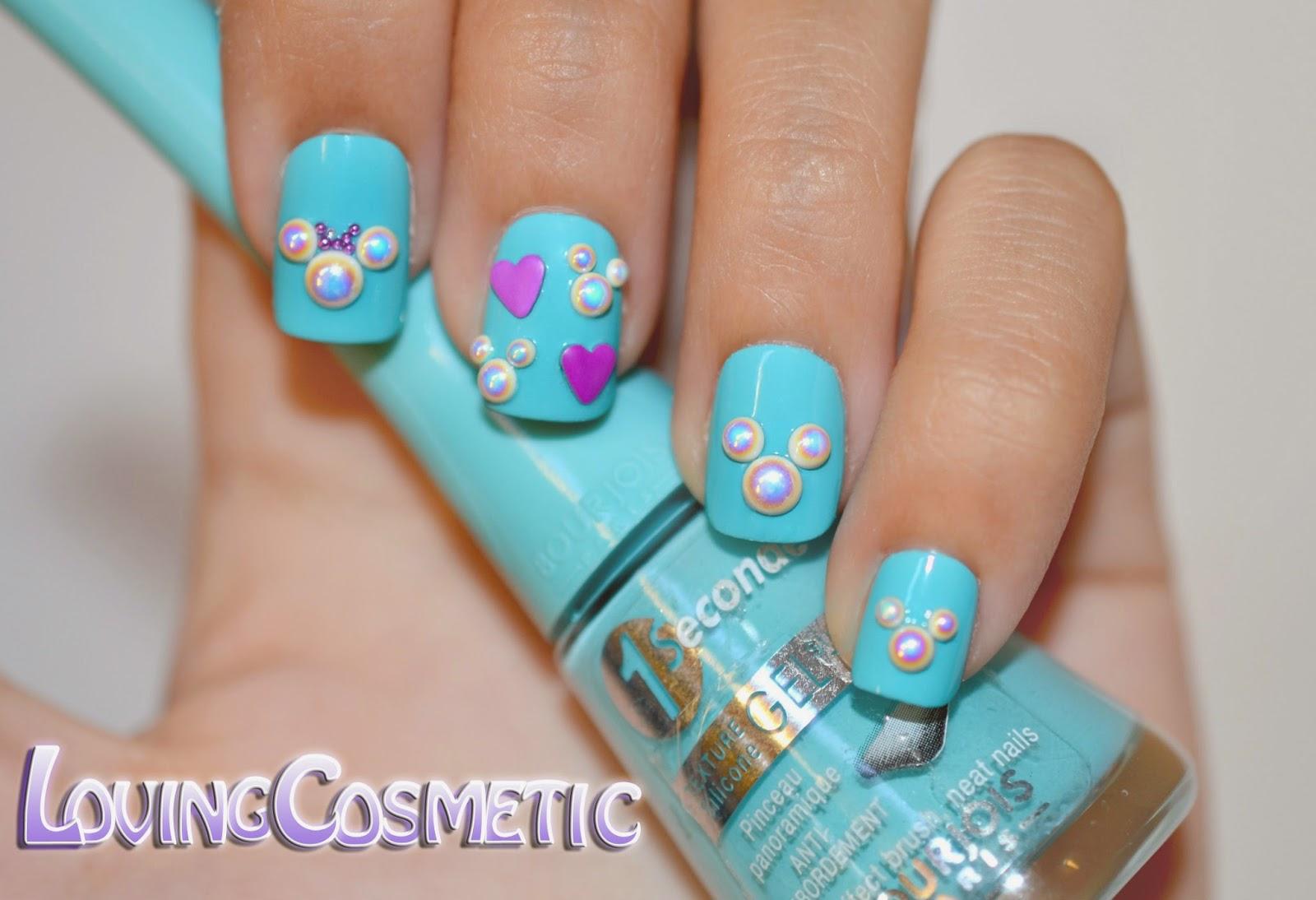 Nail Art Mickey Mouse ~ LovingCosmetic