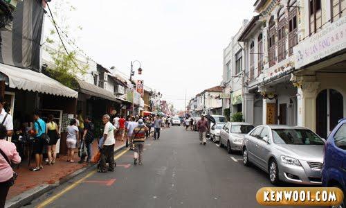 malacca jonker walk day