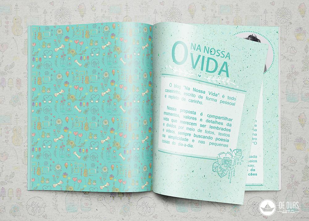 logo e identidade visual para blog deduasuma