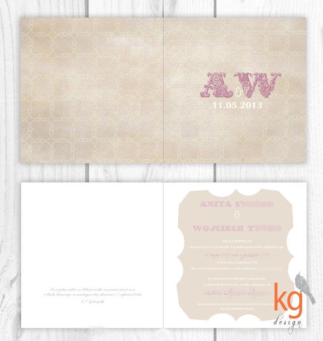 zaproszenia ślubne w stylu kowbojskim, rustykalnym, nawiązujące do sali, motyw przewodni, kwadratowe, mapka dojazdu, monogram, RSVP, zaproszenie składane na pół, oryginalne, nietypowe, artystyczne, zaproszenia ślubne