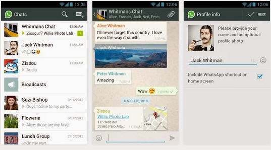 WhatsApp Messenger for Android free download