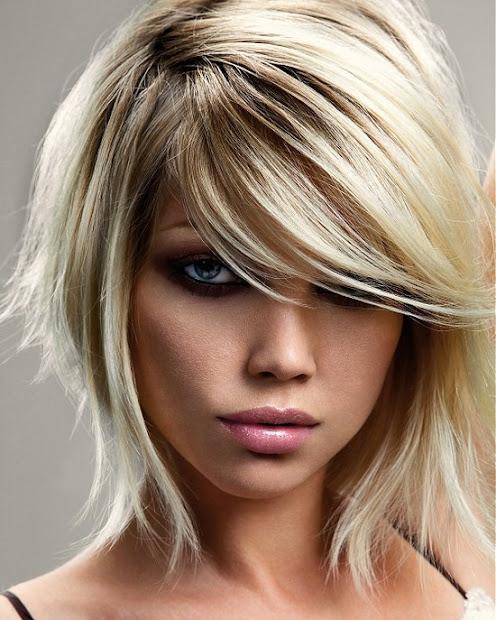 medium emo hairstyles girls