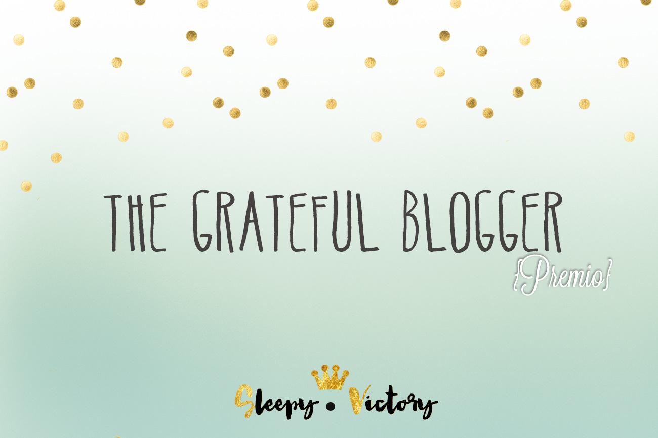 grateful blogger