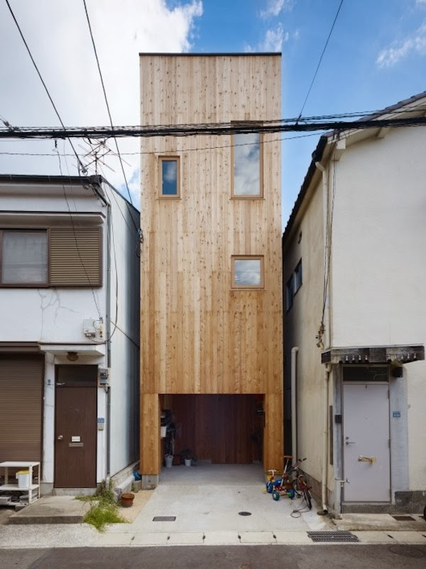small spaces house, renovated small space house, house, modern house