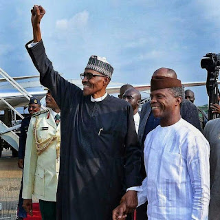 APC Celebrates Buhari's Return As PDP Diss Mr President In Its Welcome Message