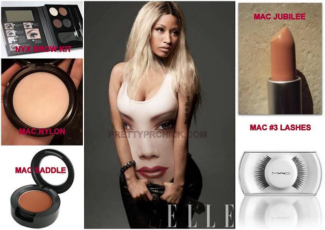 Get the look nicki minaj in elle magazine for Elle magazine this month