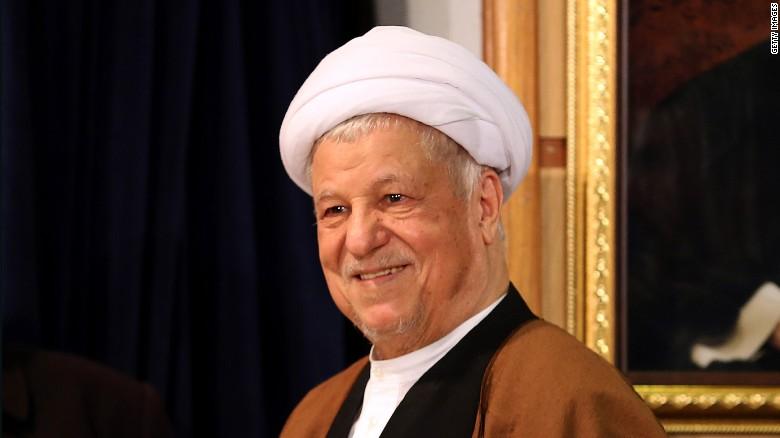 IRANIAN RAFSANJANI, DEAD AT 82.