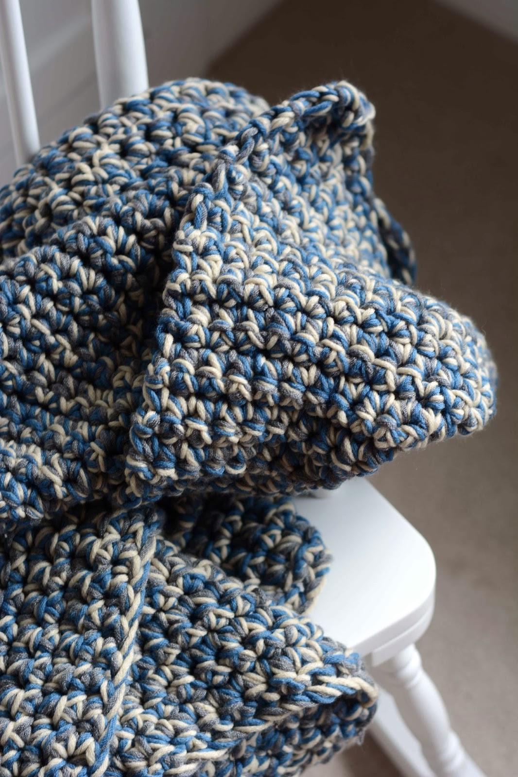 2 Strand Baby Blanket Crochet