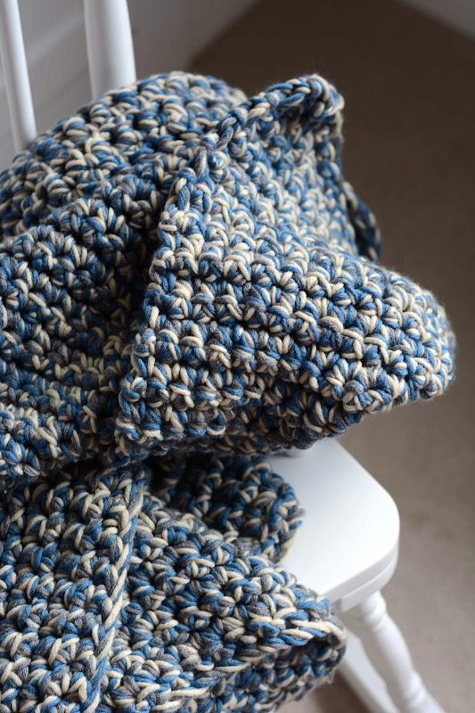 Aesthetic Nest Crochet Easy Baby Afghan Again