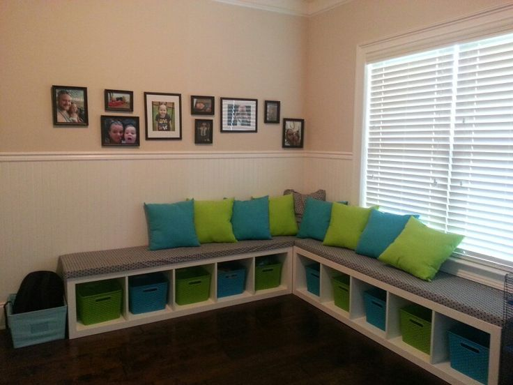 Use A Shelving Unit As A Bench