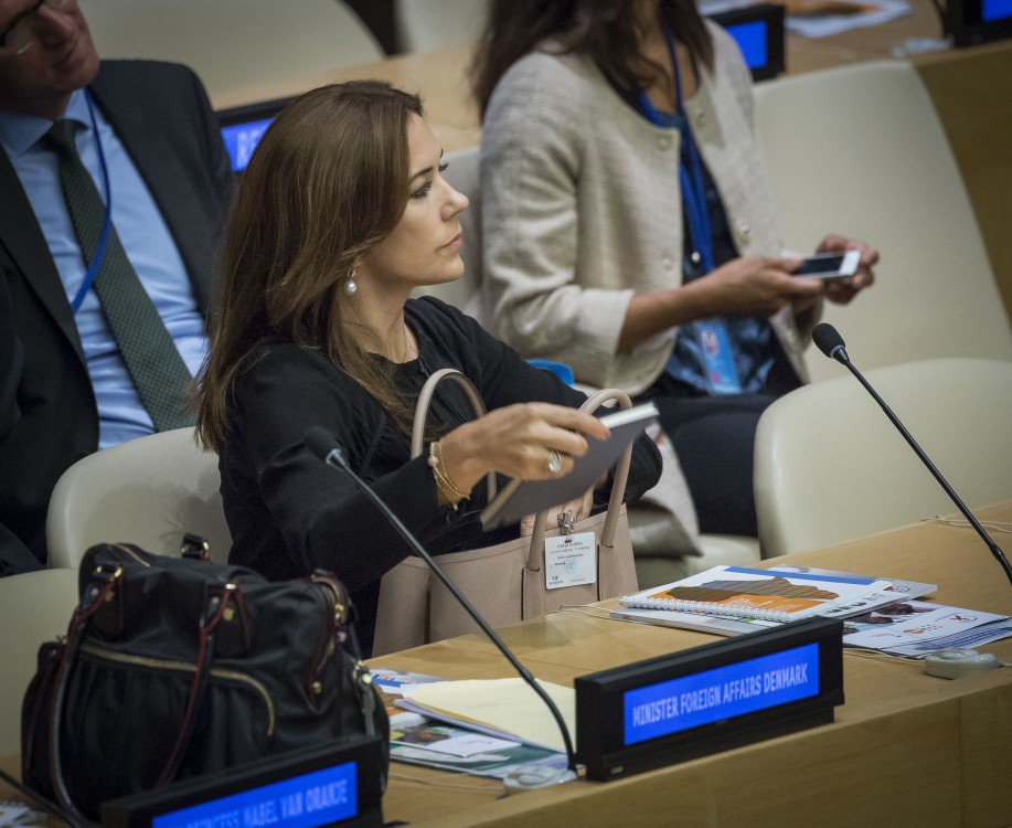 Princess Mary attended the General Assembly of the UN