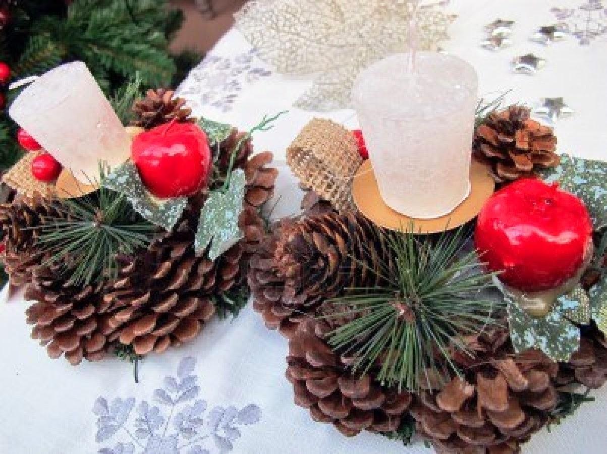 Centros de mesa navide os originales parte 3 - Adornos navidad originales ...
