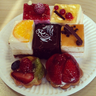 Instagram Photo of an assortment of delicious desserts