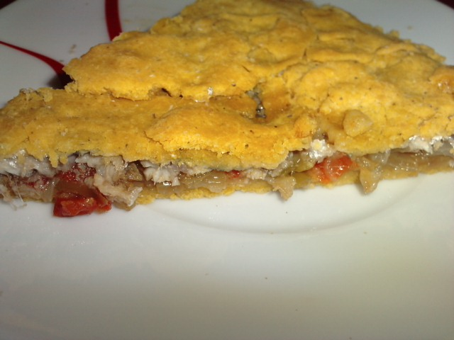 Las recetas de yoli empanada de ma z de xoubas parrochas for Cocinar xoubas