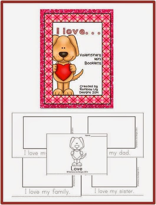 http://www.teacherspayteachers.com/Product/Valentines-Mini-Booklets-I-love-1081231