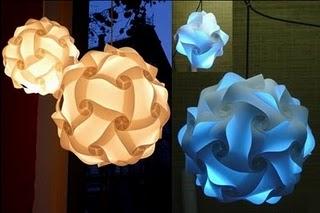 Origami: Luminária Orbit