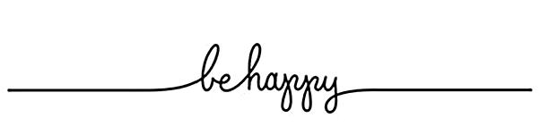 Seja feliz be happy