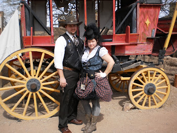 Jeff and Shawna at Tucson SteamPunk Festival 2011
