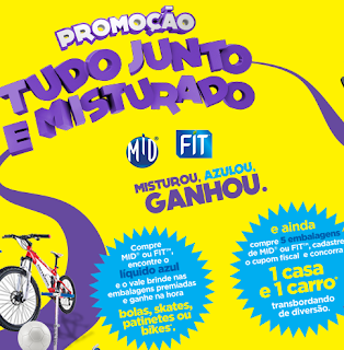 """Promoção Mid Fit  2014 - """"Tudo Junto E Misturado"""""""