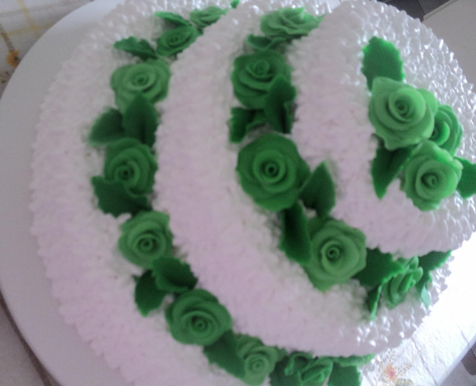Fabuloso Kalanguinho Rosa: Bolo de Casamento 3 andares com flores WX64